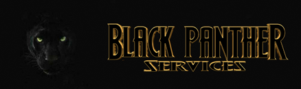 Black Panther Services Logo